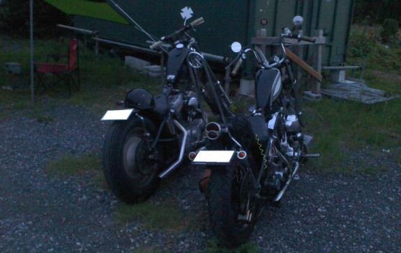 T氏とオレのバイク