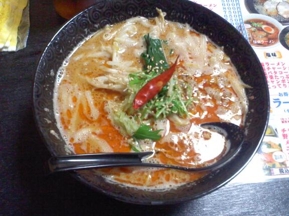白ゴマタンタン麺