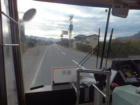 釜石行きのバス