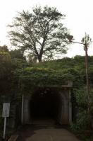 赤堀トンネル入口
