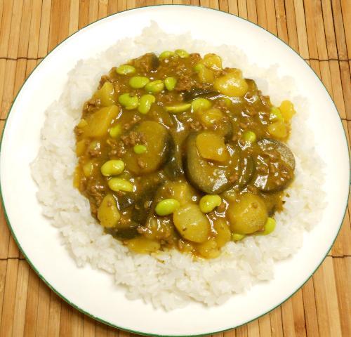 枝豆カレー15