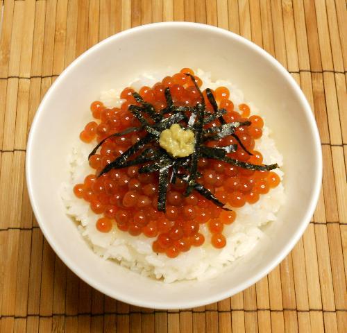クールブイヨンのイクラ丼9