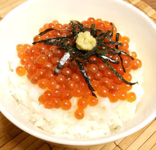クールブイヨンのイクラ丼10