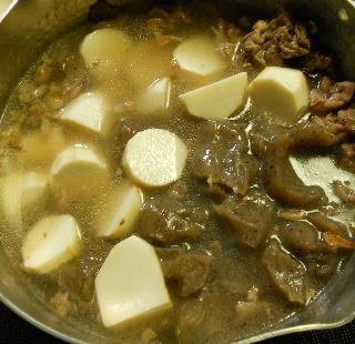 芋煮のチーズ焼き2