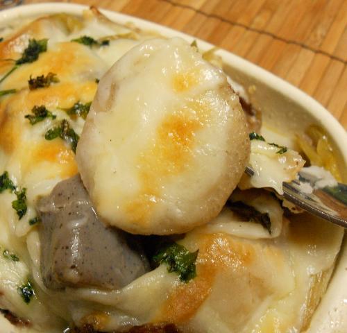 芋煮のチーズ焼き14