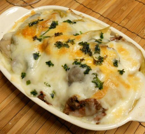 芋煮のチーズ焼き13