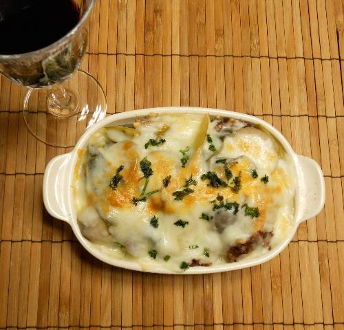 芋煮のチーズ焼き12