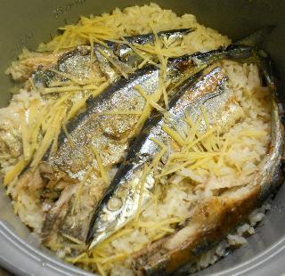 小坂さんの簡単サンマご飯5