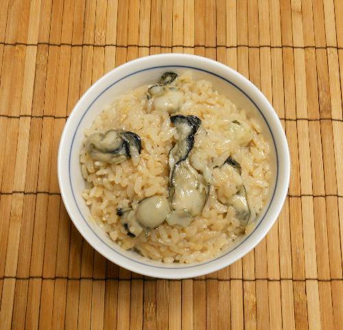 オイスターソース風味のカキ飯5