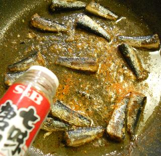 オイルサーディン丼4