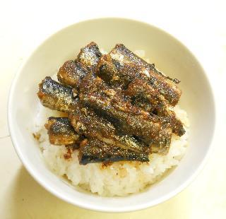 オイルサーディン丼6