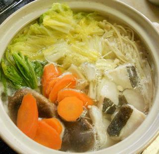 鱈と冬野菜の湯豆腐鍋6