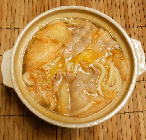 鱈と冬野菜の湯豆腐鍋10