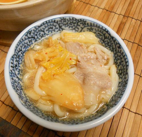 鱈と冬野菜の湯豆腐鍋11