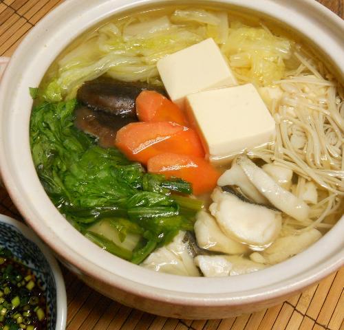 鱈と冬野菜の湯豆腐鍋8