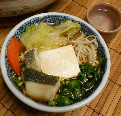 鱈と冬野菜の湯豆腐鍋9