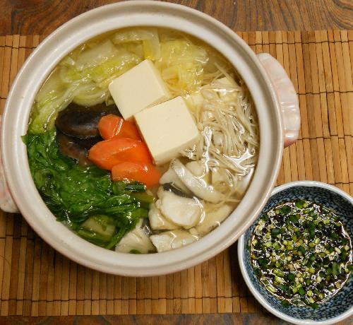 鱈と冬野菜の湯豆腐鍋7