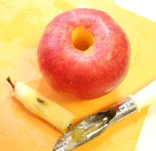 まるごとりんごケーキ2