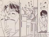 台所で歌いながらケーキを焼く芹香ちゃんを微笑ましく思う南野さん