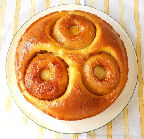 まるごとりんごケーキ14