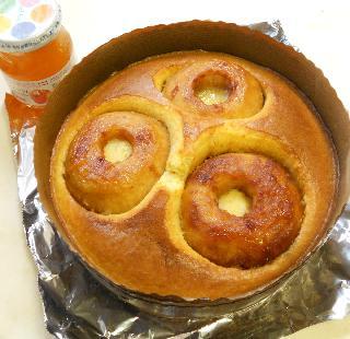 まるごとりんごケーキ12