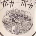 ハマグリのリングィーネ図
