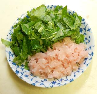 ガリと鰯蒲焼の混ぜ寿司2