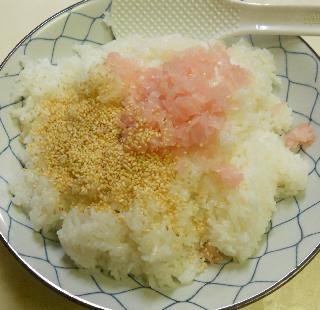 ガリと鰯蒲焼の混ぜ寿司7