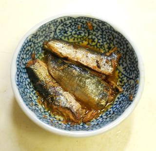 ガリと鰯蒲焼の混ぜ寿司3