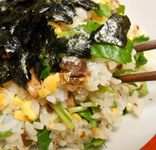 ガリと鰯蒲焼の混ぜ寿司12