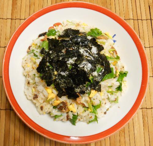 ガリと鰯蒲焼の混ぜ寿司10