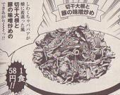 切り干し大根と豚の味噌炒め図