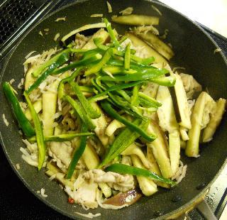 切り干し大根と豚の味噌炒め10