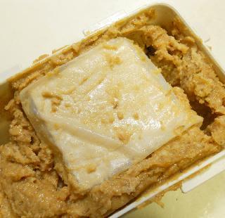 蜆肉飯と味噌漬け豆腐4