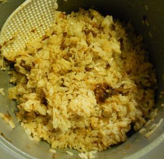 蜆肉飯と味噌漬け豆腐15