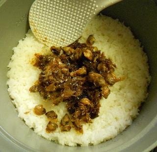 蜆肉飯と味噌漬け豆腐14