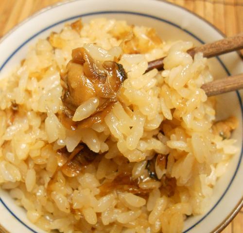 蜆肉飯と味噌漬け豆腐21