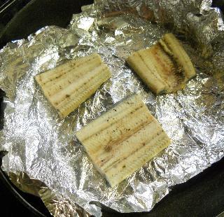 宇治丸のネギ塩焼き 干し大根の味噌和えのせ4