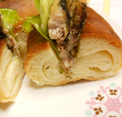 秋の味覚さんまパン20