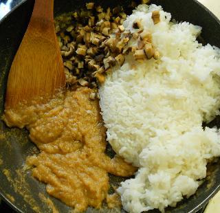 焼き味噌ご飯の和風ドリア5
