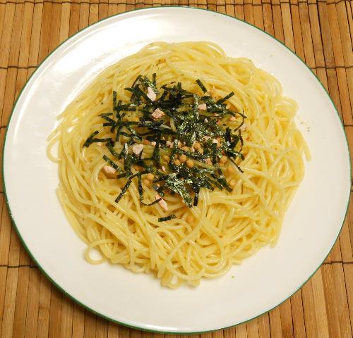 花さん流鮭茶漬けスパゲティ4
