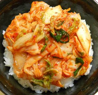 カキの唐揚げキムチ丼5