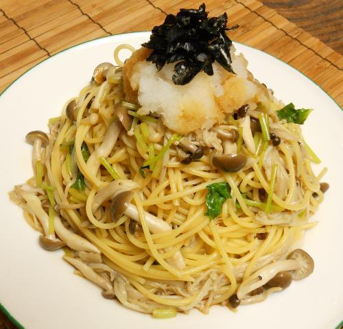 和風きのこスパゲティ9