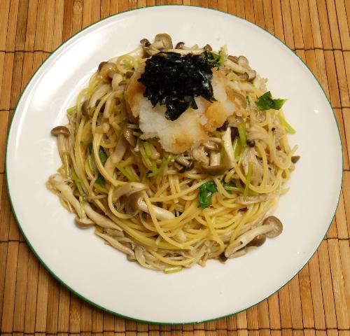 和風きのこスパゲティ8