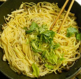 和風きのこスパゲティ5