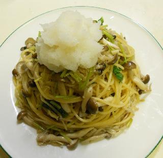 和風きのこスパゲティ7