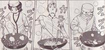 甘鯛を二種類の調理法で楽しんじゃおうという、贅沢なチャーハン