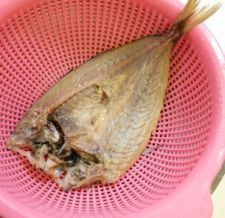 アジの開き炊き込みご飯2