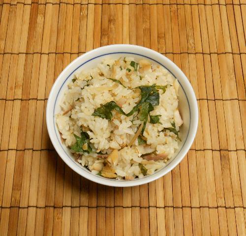 アジの開き炊き込みご飯7