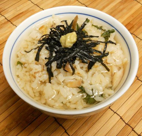 アジの開き炊き込みご飯11